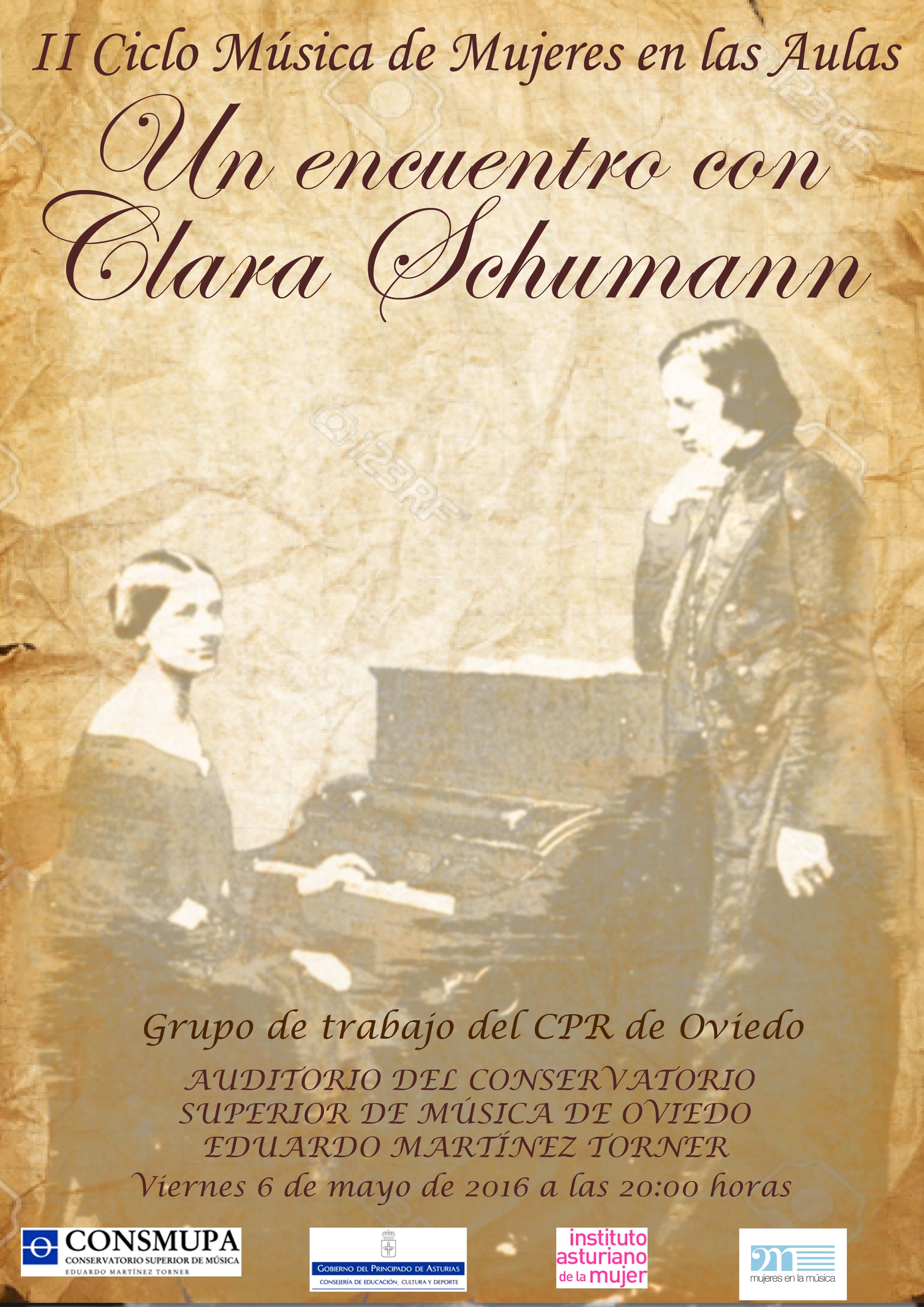 cartel Clara Schumann 8 tarde