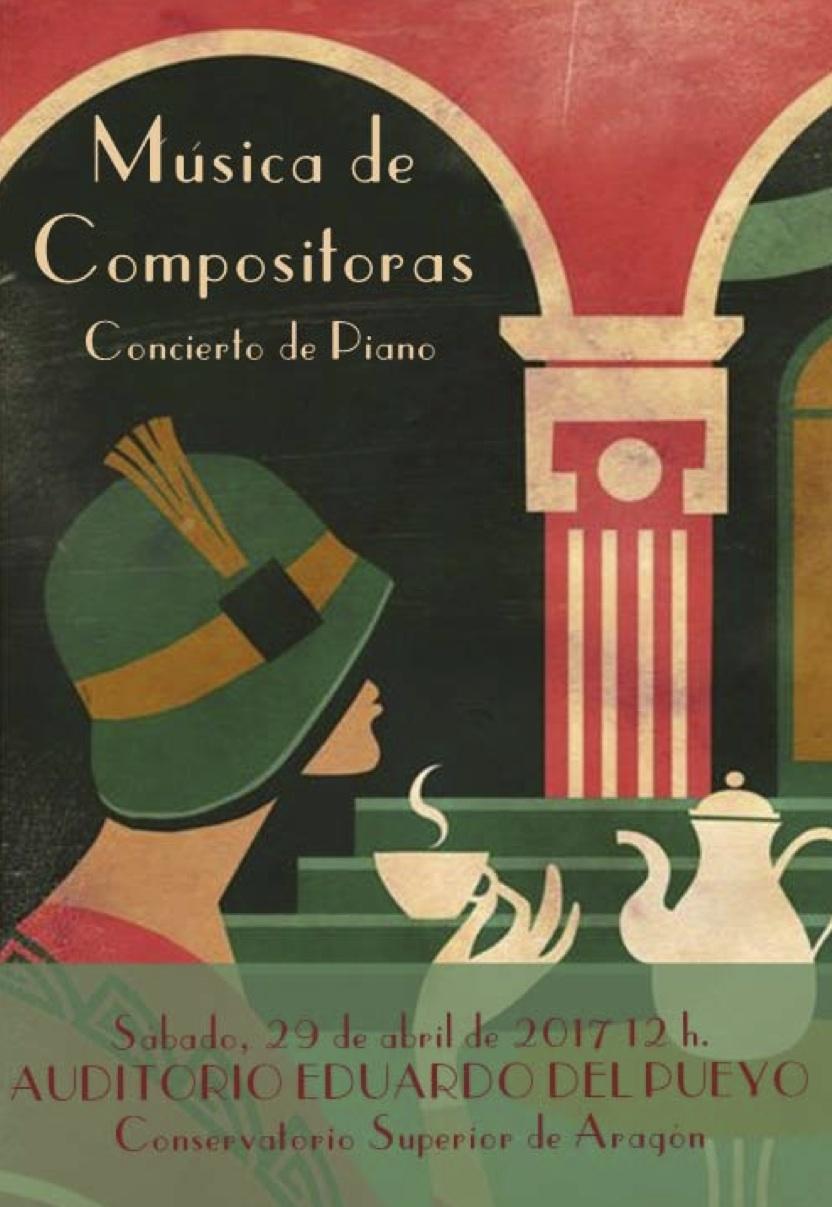 Música de Mujeres en las aulas: C.S.M. de Aragón @ Auditorio Eduardo del Pueyo (C.S. de Aragón) | Zaragoza | Aragón | España