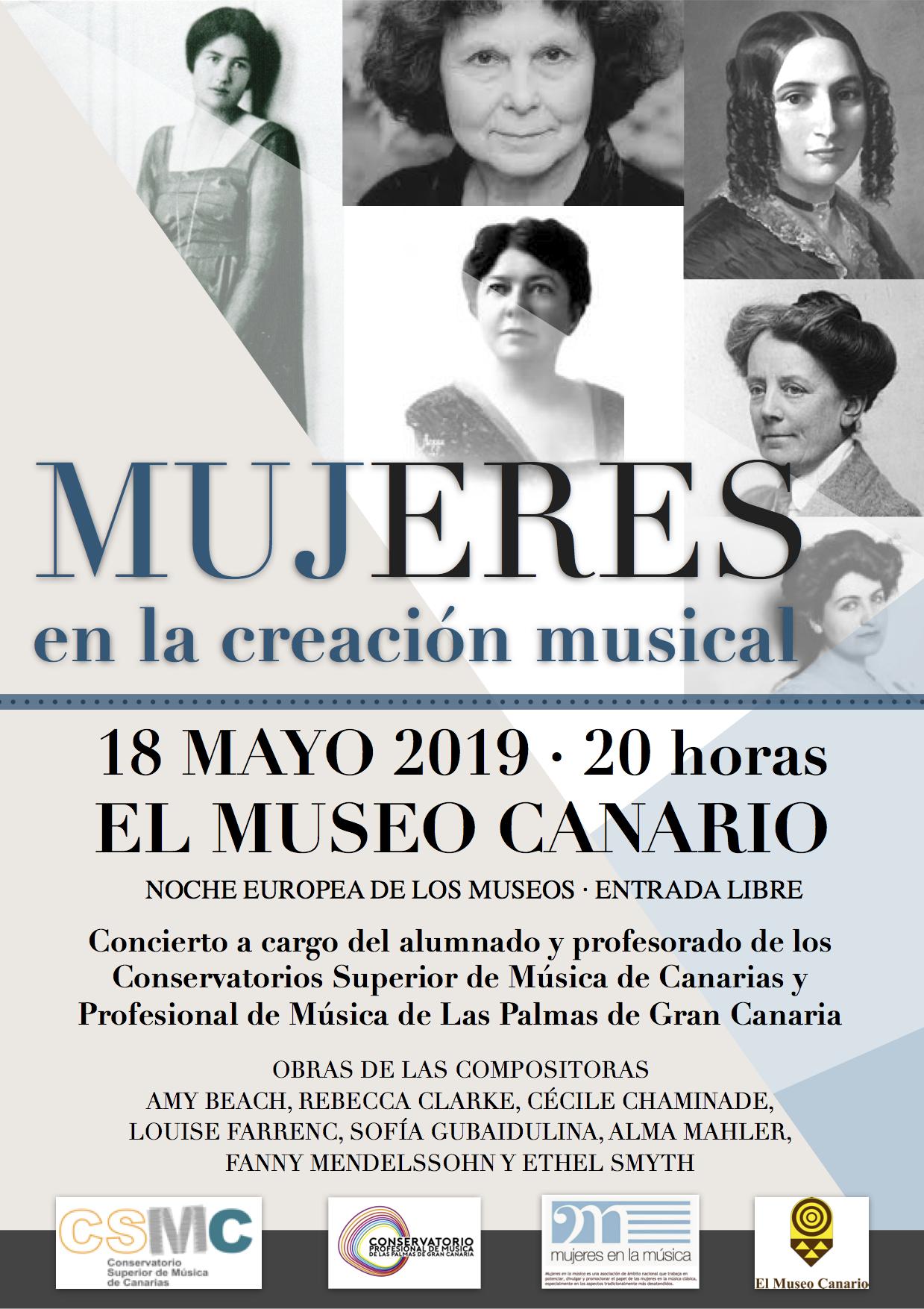 #VMujeresenlasaulas: CSM de Canarias y CPM de Las Palmas de Gran Canaria @ Museo Canario | Madrid | Comunidad de Madrid | España