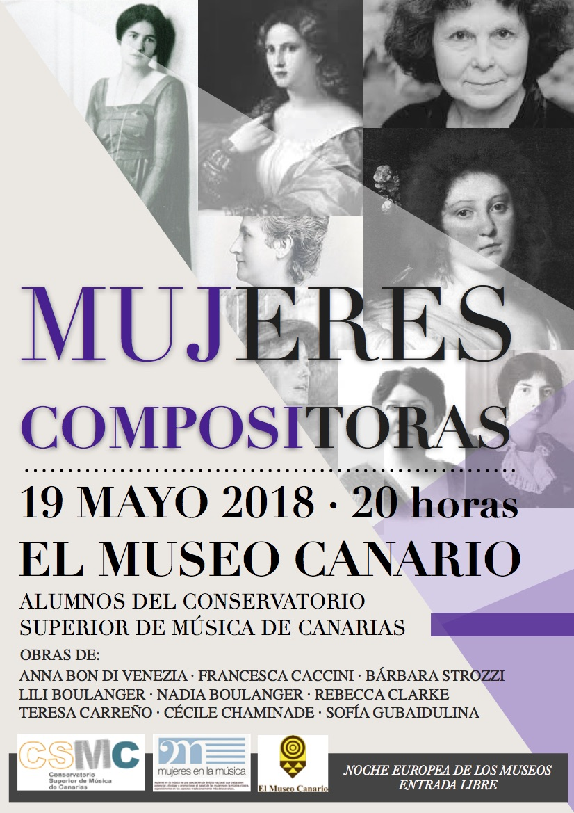 IV Música de Mujeres en las aulas: C.S.M. de Canarias @ El Museo Canario | Las Palmas de Gran Canaria | Canarias | España