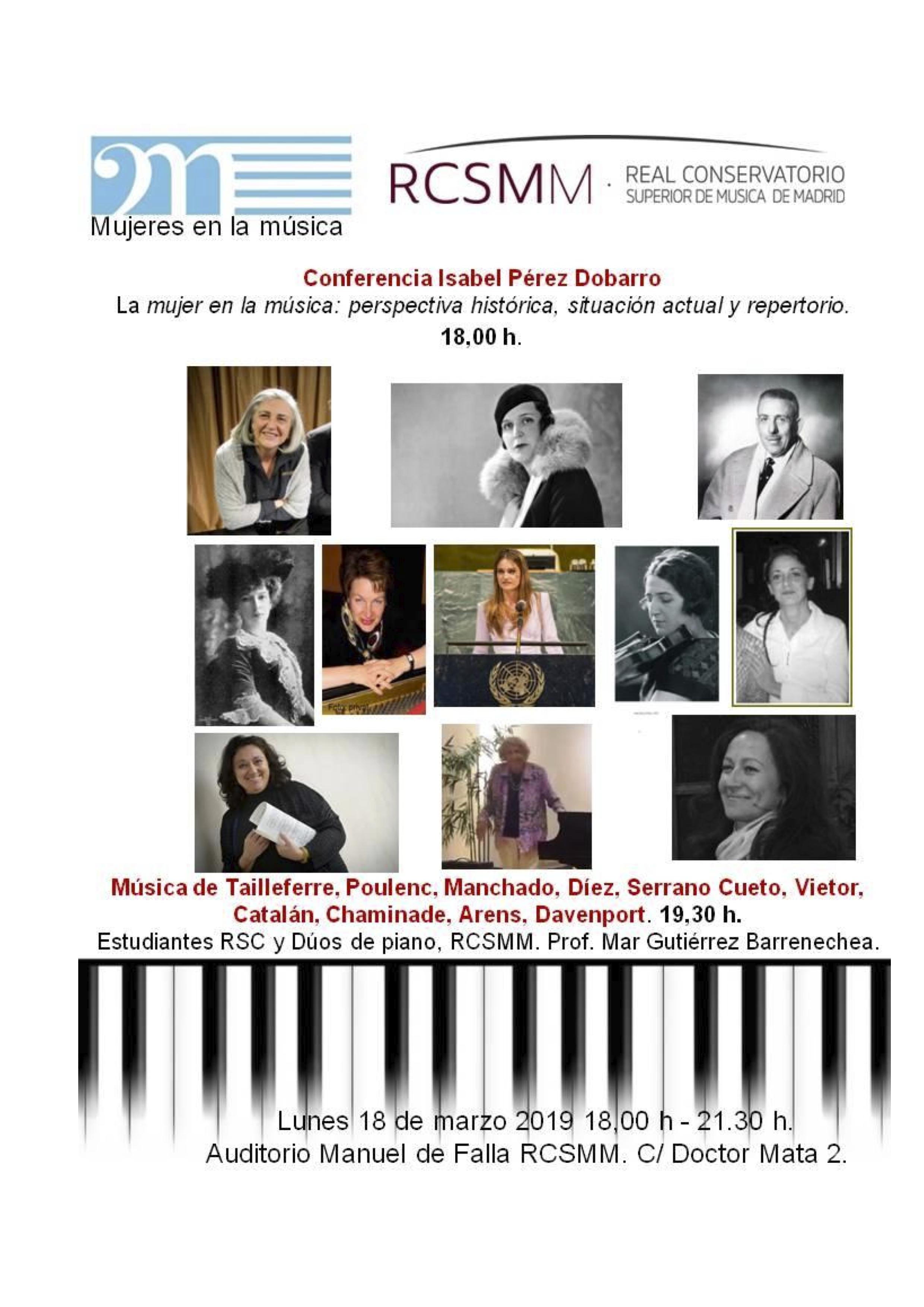 #VMujeresenlasaulas: RCSMM @ Real Conservatorio Superior de Música de Madrid | Madrid | Comunidad de Madrid | España