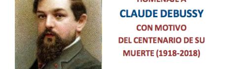 """IV Música de Mujeres en las aulas: """"El universo de Claude Debussy"""" (C.P.M y C.E.M. de Zaragoza)"""