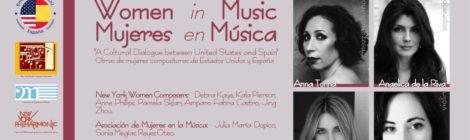 Women in Music / Mujeres en Música en Madrid