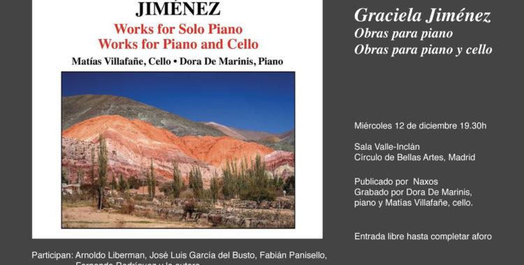 Presentación del CD: Graciela Jiménez