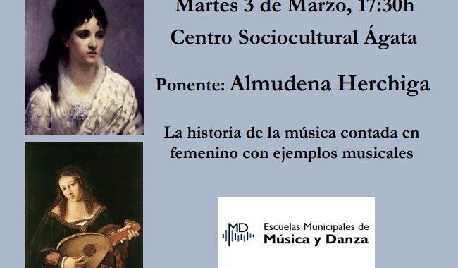 """Conferencia: """"La Mujer en la Historia de la Música"""""""