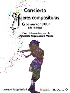 Cartel Mujeres Compositoras 2020