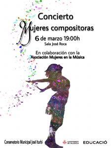 Cartel Mujeres Compositoras 2020