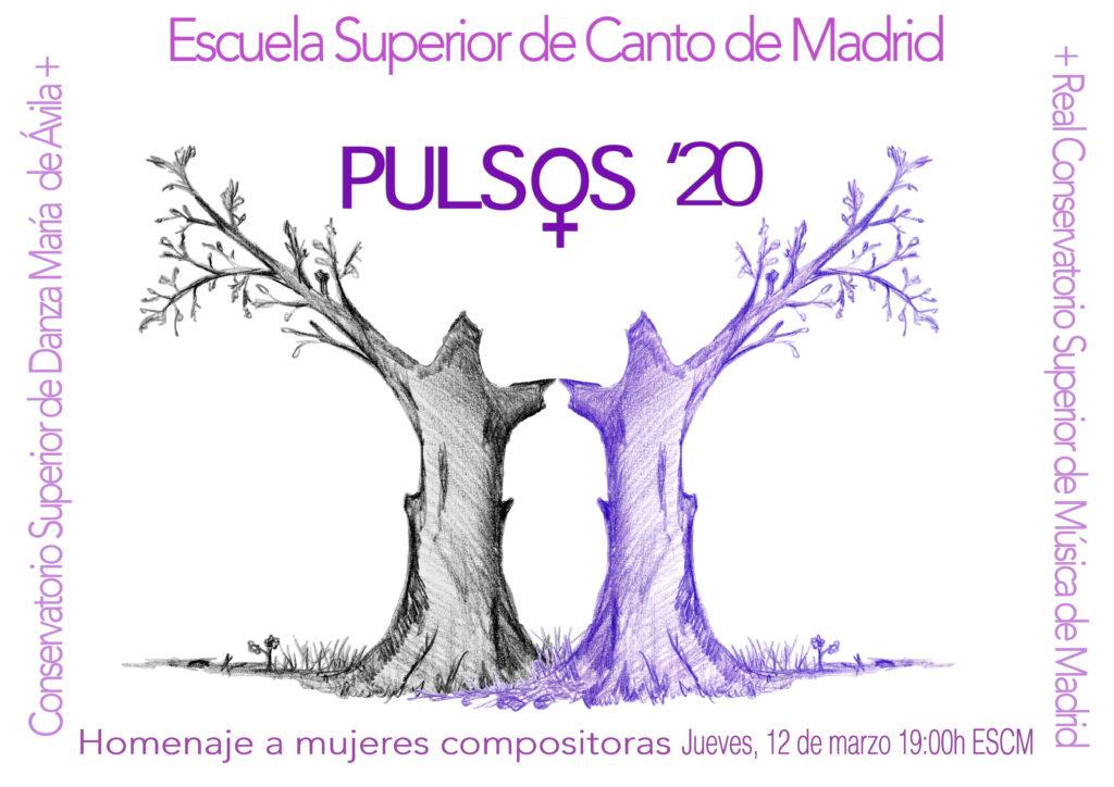 #VIMujeresEnLasAulas Escuela Superior de Canto PULSOS '20 @ Escuela Superior de Canto de Madrid