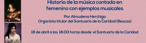 """Conferencia-Concierto Online: """"Mujeres compositoras"""", por Almudena Herchiga"""