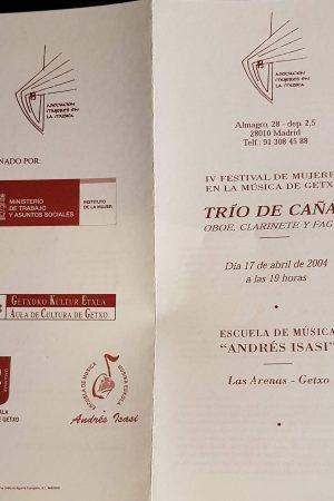 Programa Getxo 2003