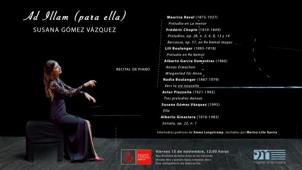 Invitacion concierto Susana Gómez I